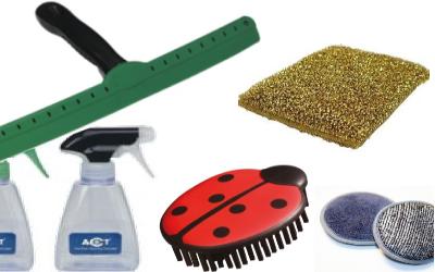 sponzen en andere accessoires